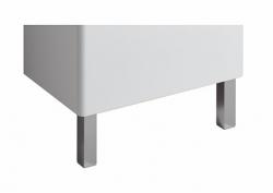 KERAMAG - K.Renova Nr.1 Comprimo NEW nábytkové nohy hliníkové hranaté 2ks (500550000)