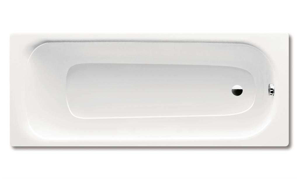 Kaldewei SANIFORM MEDIUM 245, 1700x700x315 mm, bílá, celoplošný antislip 245 220334010001 (220334010001)