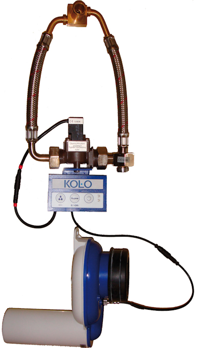 KOLO Termický splachovač pisoáru pro napájení z baterie CR-P2, 6V Lithium 96025000 (96025000)