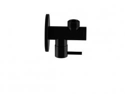 """STEINBERG - Rohový ventil 1/2 """"čierna mat (100 1640 S)"""