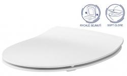 AKCE/SET/GEBERIT - Duofix pre závesné WC 111.300.00.5 bez ovládacej dosky + WC CERSANIT MODUO CLEANON + SEDADLO (111.300.00.5 MO1), fotografie 6/8
