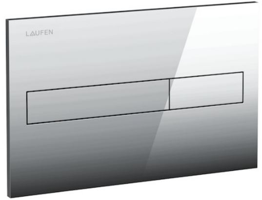 AKCE/SET/LAUFEN - Rámový podomietkový modul CW1 SET + ovládacie tlačidlo CHRÓM + WC CERSANIT MODUO CLEANON + SEDADLO (H8946600000001CR MO1), fotografie 18/10