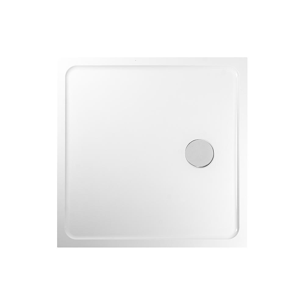 PRIM - Sprchová vanička štvorec 900x900 biela BEZ NOH (PRIM9090M)