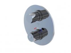 STEINBERG - Podomietková termostatická batéria 2-cestná /bez montážneho telesa/, chróm (100 4133 1)