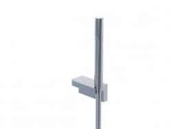 STEINBERG - Sprchová súprava, chróm (nástenný držiak, ručná sprcha, kovová hadica) (230 1650)