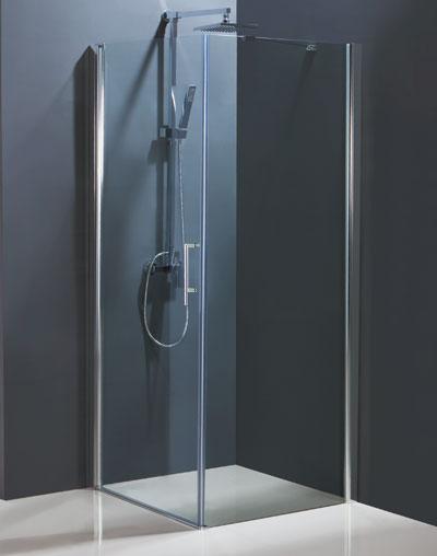 VÝPRODEJ - Sprchovací kút MADEIRA II KOMBI - Čelný panel Frost (ľavej) 85 × 195 cm BCMADE285CFLVYP