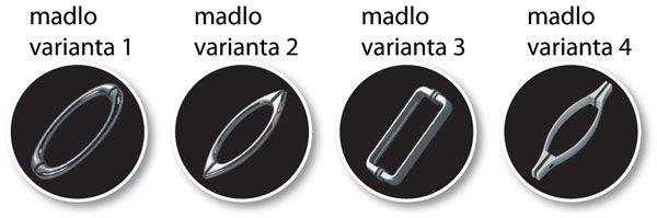 VÝPRODEJ - Sprchovací kút MADEIRA II KOMBI - Čelný panel Frost (ľavej) 85 × 195 cm (BCMADE285CFLVYP)