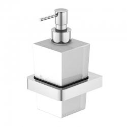 STEINBERG - Dávkovač tekutého mýdla, bielé sklo (420 8001)
