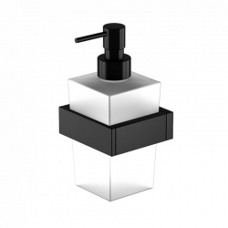 STEINBERG - Dávkovač tekutého mydla, čierna mat (460 8001 S)