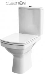 CERSANIT - WC KOMBI 606 EASY NEW CLEANON 011 3/5 BEZ SEDÁTKA BOX (K102-030)
