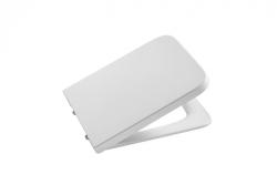 ROCA - WC sedátko INSPIRA SQUARE hranaté s poklopom Slowclose (A80153200B)