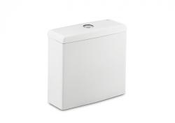 ROCA - WC nádrž MERIDIAN, armatúra Dual flush 3/6 l, spodný ľavý prívod vody (A34124H000)