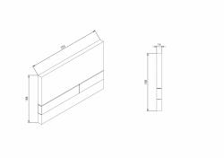 AKCE/SET/JOMO - SET JOMO Duofix modul pro závěsné WC + tlačítko + montážní sada + sedátko + WC CERSANIT CLEANON PARVA (174-91100900-00 PA2), fotografie 12/10