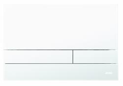 JOMO - TLAČÍTKO EXCLUSIVE 2.1 RÁMEČEK CHROM-LESK 2.0/SKLO BÍLÉ (167-41009003-00)