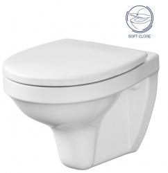 AKCE/SET - SET Duofix Sada pro závěsné WC 458.103.00.1 + tlačítko DELTA21 matné + WC CERSANIT DELFI + SOFT SEDÁTKO (458.103.00.1 21MA DE2), fotografie 6/10