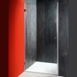 AQUALINE - FONTE sprchové dvere 900mm, číre sklo (2102-01/90)