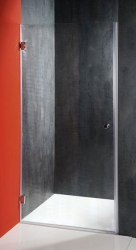 AQUALINE - FONTE sprchové dvere 900mm, číre sklo (2102-01/90), fotografie 2/1