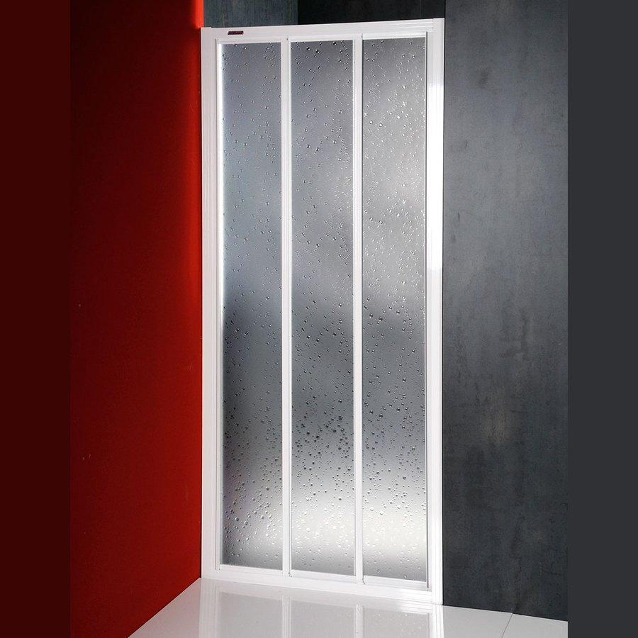 AQUALINE - DTR sprchové dvere posuvné 800mm, biela, polystyren (DTR-C-80)