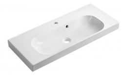 SAPHO - JOY umývadlo 80x37cm, liaty mramor, biele (FDT-837)
