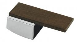 SAPHO - DECORMAX páčka, chróm/drevo (LEDM)