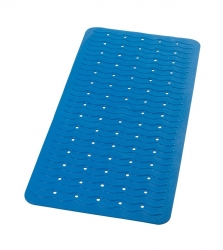 RIDDER - PLAYA podložka 38x80cm s protišmykom, kaučuk, modrá (68303)