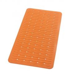 RIDDER - PLAYA podložka 38x80cm s protišmykom, kaučuk, oranžová (68314)