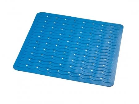 RIDDER - PLAYA podložka 54x54cm, s protišmykom, kaučuk, modrá (68403)