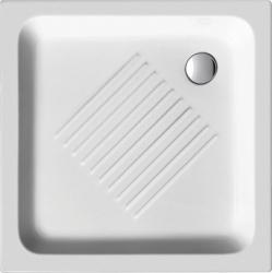 GSI - Keramická sprchová vanička, štvorec 80x80x10cm (438011)