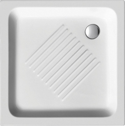 GSI - Keramická sprchová vanička, štvorec 90x90x12cm (439011)