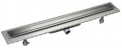 SAPHO - ESSEFLOW 92 nerezový sprchový kanálik s roštom 920x66x80 mm (6973.301.8)