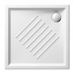 GSI - Keramická sprchová vanička, štvorec 90x90x6cm (339711)