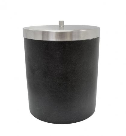 RIDDER - STONE Odpadkový kôš, čierna (22010810)
