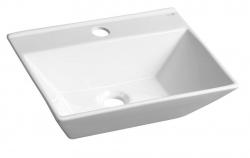 SAPHO - MERANDA umývadlo 40x14x31cm, biela (BH7019)