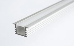 Sapho Led - LED zápustný profil 22x12mm, eloxovaný hliník, 1m (KL3776-1), fotografie 2/1