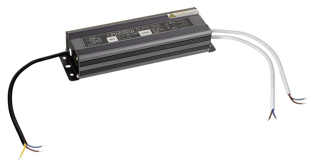 SAPHO - LED driver 200W, 230/12V, vodeodolný (LDR200)