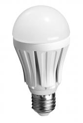 SAPHO - LED žiarovka 12W, E27, 230V, teplá biela, 1020lm, smívaca funkcia (LDB165)