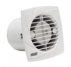 CATA - B-10 PLUS C kúpeľňový ventilátor so šnúrkou, 15W, potrubie 100mm, biela (00981201)