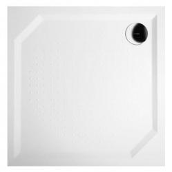 GELCO - ANETA80 sprchová vanička z liateho mramoru, štvorec 80x80x4cm (GA008)