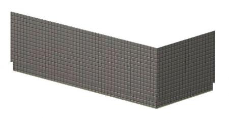 POLYSAN - DUPLA TIFA panel rohový, ľavý (13919L)