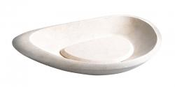 SAPHO - BLOK 15 kamenné umývadlo 70x10x38 cm, Galala, matný kameň (2401-19)
