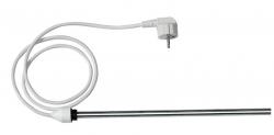 AQUALINE - Elektrická vykurovacia tyč bez termostatu, rovný kábel, 400 W (LT90400)