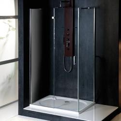 POLYSAN - VITRA LINE sprchová zástena, obdĺžnik 1000x700mm, ľavá, číre sklo (BN7215L)
