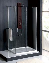 POLYSAN - VITRA LINE sprchová zástena, obdĺžnik 1000x700mm, pravá, číre sklo (BN7215R), fotografie 6/5