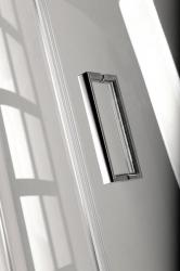 POLYSAN - VITRA LINE sprchová zástena, obdĺžnik 800x700mm, pravá, číre sklo (BN7015R), fotografie 10/5