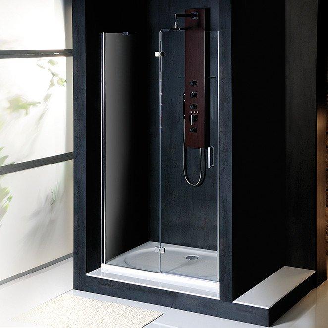 POLYSAN - VITRA LINE sprchové dvere 1100mm, ľavé, číre sklo (BN3915L)
