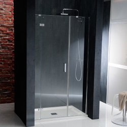 POLYSAN - VITRA LINE sprchové dvere 1300mm, ľavé, číre sklo (BN4015L)