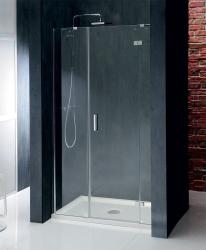 POLYSAN - VITRA LINE sprchové dvere 1400mm, pravé, číre sklo (BN4115R), fotografie 6/4