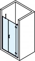 POLYSAN - VITRA LINE sprchové dvere 1400mm, pravé, číre sklo (BN4115R), fotografie 4/4