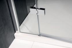 POLYSAN - VITRA LINE sprchové dvere 1400mm, pravé, číre sklo (BN4115R), fotografie 2/4
