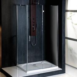 POLYSAN - VITRA LINE sprchová zástena, obdĺžnik 1200x1000mm, pravá, číre sklo (BN6515R)